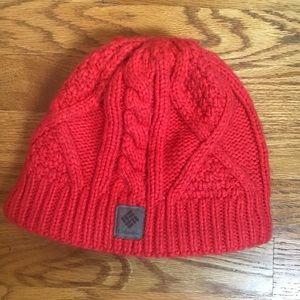 Columbia orange hat